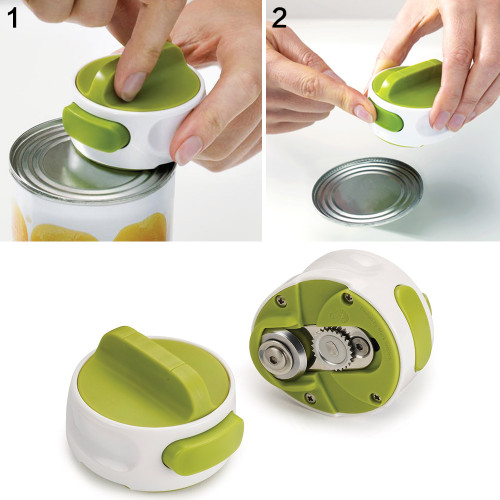 1Pc Manual Stainless Steel Can Opener Switch Shape Bottle Opener Screw Openers Easy Non-slip Openers Kitchen Gadget