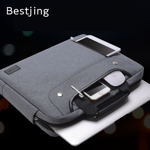 """2018 New Brand Nylon Sleeve Case For Laptop 11"""",13"""",14"""",15"""",15.6"""",Messenger Handbag Bag For Macbook Air 13.3,15.4 Free Shipping"""