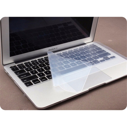 FFFAS Anti-dust and Waterproof Keyboard Cover Universal Soft Silicone Protector Film for Macbook Pro 15-17 Inch Laptop Notebook