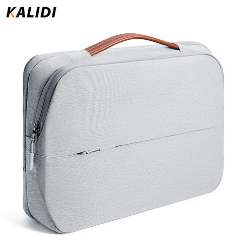 KALIDI Laptop Bag 11 12 13.3 14 15.6 Inch Waterproof Notebook Bag 15 15.6 Inch For Macbook Air Pro 13 15 Laptop Sleeve Women Men