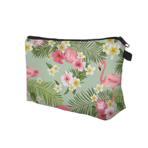 Deanfun 3D Printed Cosmetic Bags Flamingo and Flower Necessaries for Travelling Storage Makeup Dropshipping 51055