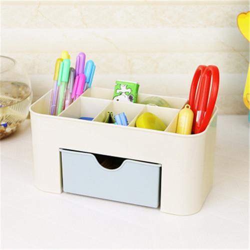 NIBESSER 2017 Women Cosmetic Case Make Up Toiletry Kit Storage Case Plastic Makeup Brush Box Lipstick Travel Makeup Organizer