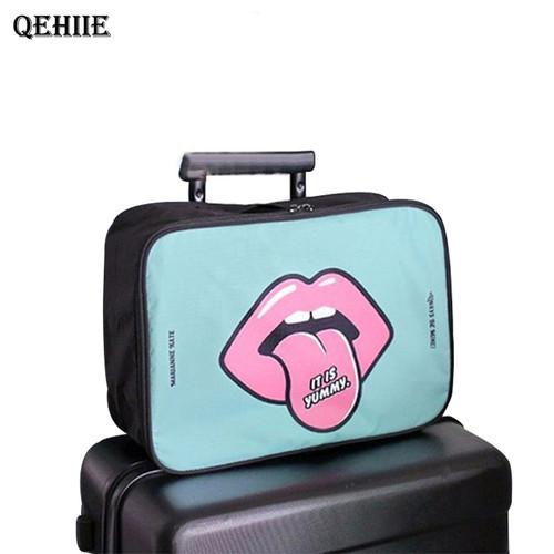 Large Capacity Travel Cosmetic Bag Portable Cosmetics Bathroom Storage Organizer Waterproof Bag Accessories Free Shipping