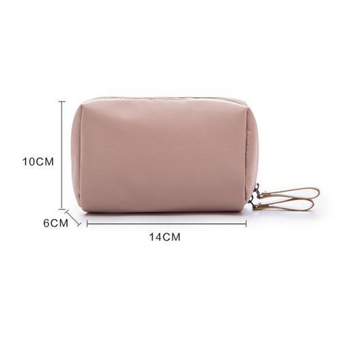 Wulekue Fashion Nylon Cosmetic Bag Small Women MakeUp Organizer Bag Waterproof Storage Bag Travel Portable neceser Mini Bag