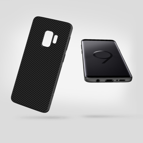 Nillkin sFor Samsung Galaxy S9 Case Galaxy S9 Carbon Fiber Back Cover PP Plastic Synthetic Fiber Case For Samsung S9 Plus S9+