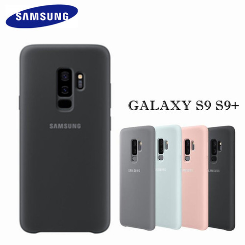 100% GENUINE Original Samsung Silicone Cover Case for Samsung Galaxy S9 S9+ S9 PLUS G960 G965 - Anti-Wear Protection Cover Back