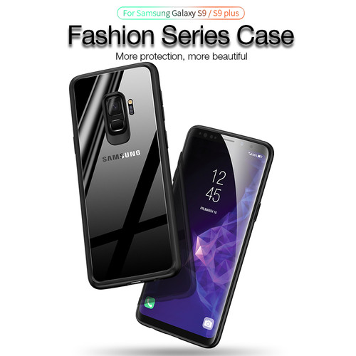 CAFELE Case for Samsung galaxy s9 plus TPU+PC Fashion Luxury Transparent Back Ultra thin Shockproof Cover for Samsung galaxy s9