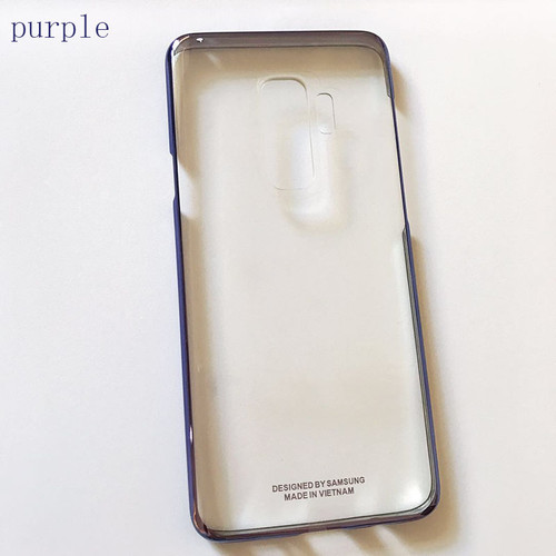 Samsung S9 S 9 Plus Original Back Case Cover 360 Armor Cute Clear Shockproof Transparent Luxury Hard PC Protection Protective