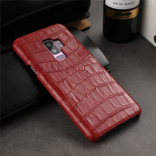 Luxury brand back cover leather For samsung galaxy s9 plus case phone s9 cases and covers shell