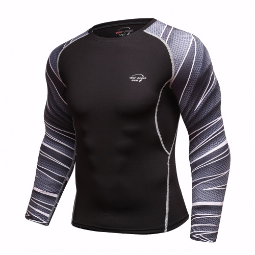 Cody Lundin New 2018 Fitness MMA Compression Shirt Men Long Sleeve 3D Printed T-shirt Brand Clothing Marvel T shirts Tops