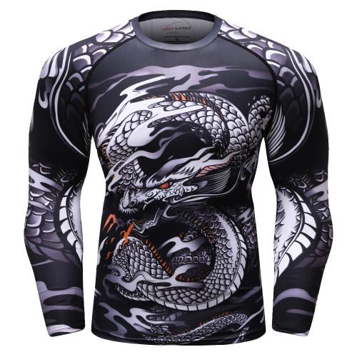 27a1913e7722 Men 3D printed MMA T Shirt Rashguard BJJ jersey marvel compression tops  Cross Fit shirts gyms · Choose Options Compare