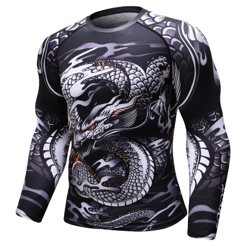 Men 3D printed MMA T Shirt Rashguard BJJ jersey marvel compression tops Cross Fit shirts gyms Bodybuilding camiseta t shirts