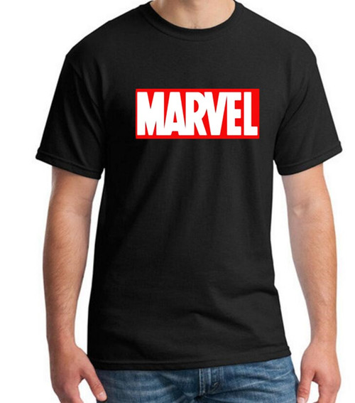 New Fashion MARVEL t-Shirt men cotton short sleeves Casual male tshirt marvel t shirts men tops tees
