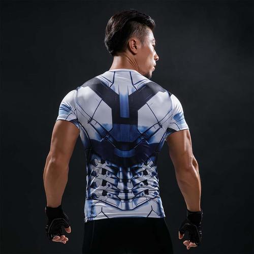 Marvel Comics Avengers Super Hero Iron Man 3 T Shirt 3D Print Tshirt Men Short Sleeve  Top Tees
