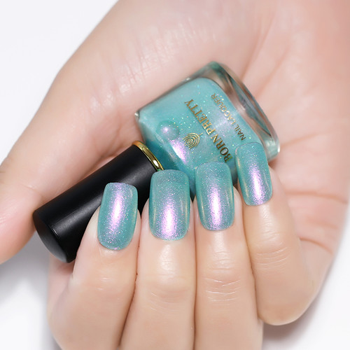 BORN PRETTY Chameleon Mermaid Nail Polish 6ml Shell Glimmer Varnish Summer Series Glitter Nail Lacquer Polish
