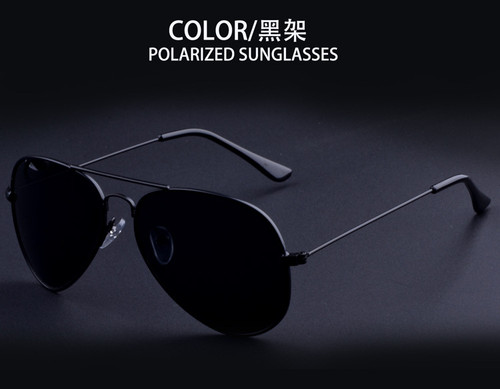 classic Brand Designer mens Aviator HD polarized sunglasses 3025 58mm lens Pilot women sun glasses UV400 Eyewear Accessories ray