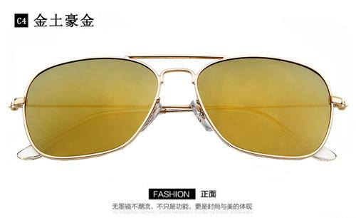 LVVKEE Fashion Aviator POLARIZED Sunglasses Metal Frame Classic Men's/Womens brand Designer UV400 Sun glasses occhiali da sole