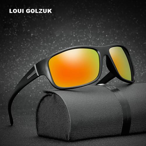 Top Quality Men Polarized Sports Sunglasses 2018 New Night Vision Anti-UV400 Fishing Sun Glasses Male Outdoor Safe Eyewear