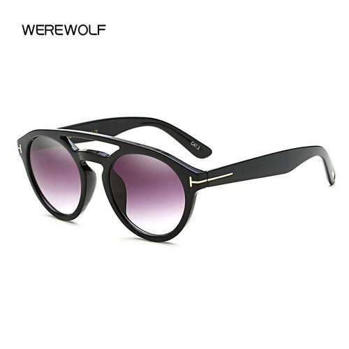 WEREWOLF 2017 NEW Fashion Tom Designer Hot sunglasses for men and women Glasses Round eyeglasses With Accessories Gozluk