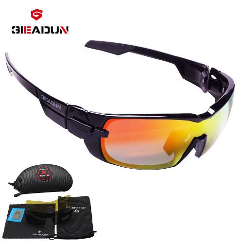 2018 Polarized Cycling Glasses Mountain Bike Goggles 3 Lens UV400 Cycling Eyewear Bicycle Sunglasses Cycling  sunglasses