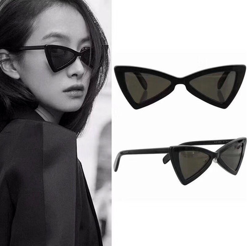 JackJad 2018 Fashion Triangle Cat Eye Style 207 Jerry Sunglasses Vintage Women Brand Design Sun Glasses Oculos De Sol Feminino