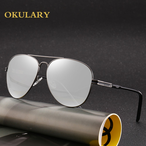 2018 Trendy Photochromic Polarized Oval Sunglasses Chameleon Discoloration Spring Mirror Legs Sun Glasses For Men Driving Oculos