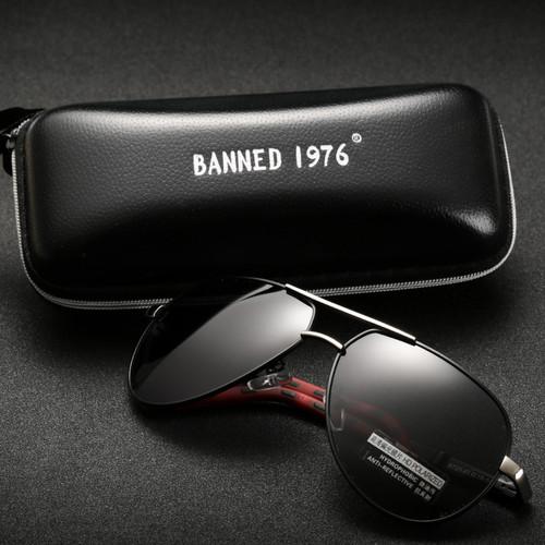 2018 Top quality Anti glare HD Polarized Aluminum Sunglasses hot Men's brand new Sun glasses big size oculos women gafas de sol