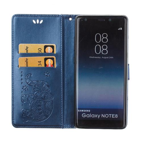 DEEVOLPO Elephant Case For Samsung Galaxy Note8 S8 S7 S6 Edge J1 J3 J5 J7 Max J2 Prime A3 A5 2017 2016 A720 Wallet Cover DP01Z
