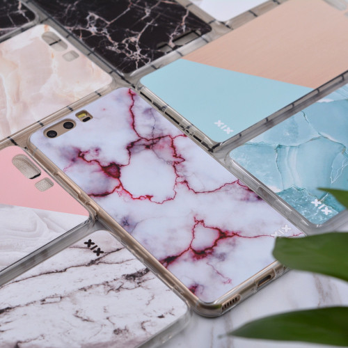 For Huawei P10 Lite Case Marble Cover Huawei P9 Lite Case 2017 P8 P9 P20 Lite Pro Plus P Smart Honor 6A 6X 7X 8 9 Nova 2 Mate 10