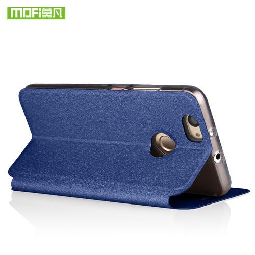 For Huawei P10 Lite case P10 lite cover silicone flip leather Mofi For P10 Lite case glitter 360 shockproof glitter fundas coque