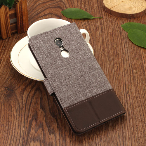 Retro patchwork canvas leather For Xiaomi redmi note 4X / Note 4 Case Cover For Capa Xiaomi Redmi 4X / redmi 4A wallet flip case