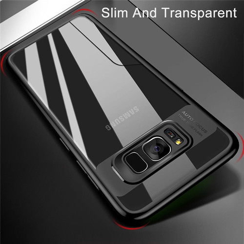 For Samsung Galaxy S9 Plus phone Case Luxury Ultra Thin Transparent PC & TPU Silicone Back Cover Case for Samsung Galaxy S8 Plus