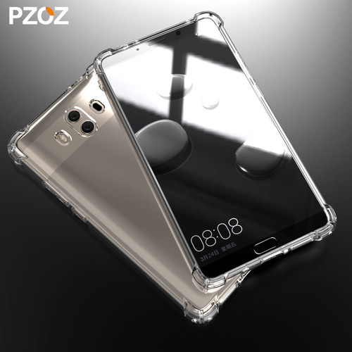 PZOZ huawei mate 10 pro case clear Prime luxury huawei mate 10 Silicone Cover Protective Shell hauwei mate 9 case armor honor 10