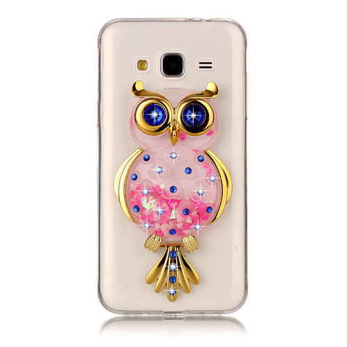Unicorn Glitter Liquid Case sFor Coque Samsung Galaxy J3 2017 J330 J3 Emerge Prime Cover Dynamic Phone Cases for Samsung J3 2016