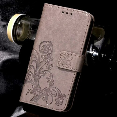 Four Leaf Clover Case for Samsung Galaxy Note 3 Cover Samsung Note 3 with Flip Wallet Case Phone Coque Hoesjes PU Leather