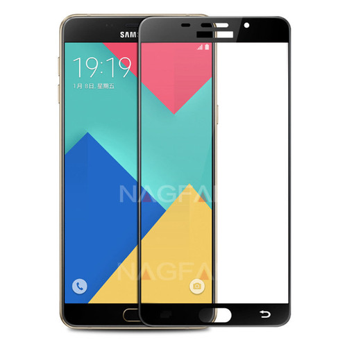 NAGFAK Full Cover 9H Screen Protector For Samsung Galaxy A3 A5 A7 2016 Tempered Glass For Samsung A5 A3 A7 2017 Protective film