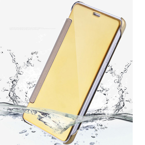 Flip Case For Xiaomi Redmi 4 pro prime Mirror Smart Clear View Phone Cover For Xiaomi mi 5 mi 5S Redmi Note 3 Leather Flip Case