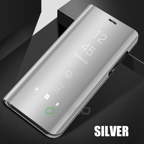 Luxury Clear Smart View Mirror Case For Huawei P20 Lite Honor 9 8 Lite Cover Cases For Huawei P8 P9 lite P20 Mate 10 Pro Case