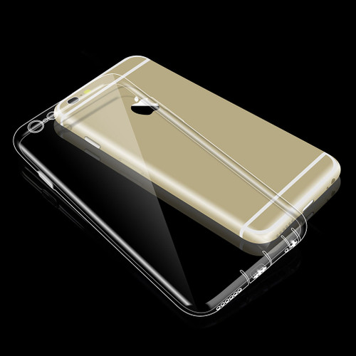 Silicone Case For Iphone 6 6S S 4.7 5S 7 8 5 Ultra Thin Dustproof Clear Phone Bag Case Luxury Cover Soft TPU Coque For Iphone 6