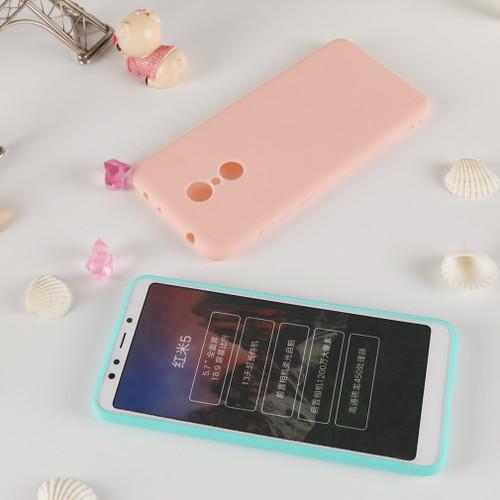 Silicone Case For Xiaomi Redmi 5 Plus Matte Cute Back Cover Soft Cover Funny Phone Bag Case TPU Coque For Xiaomi Redmi 5 Plus