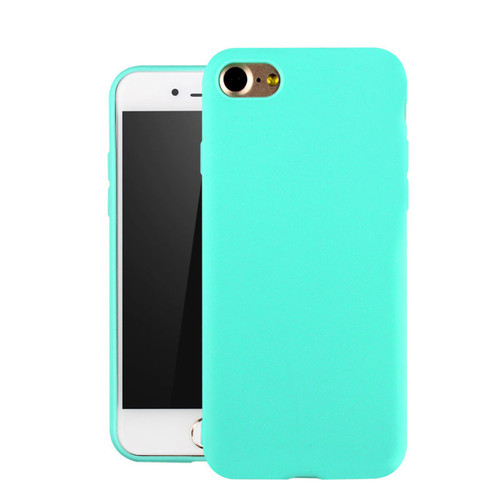 Silicone TPU phone back cover for iphone 7plus matte plain silicone case for iphone 5s 6 6s 6plus 7 8 8plus for iphoneX cover