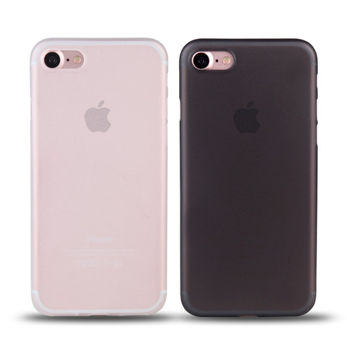 Ultra Thin Matte Transparent PC Phone case For iPhone 7 6 6S plus Case Cover For iphone X Cases 8 8 Plus Luxury 0.3mm Phone Bag