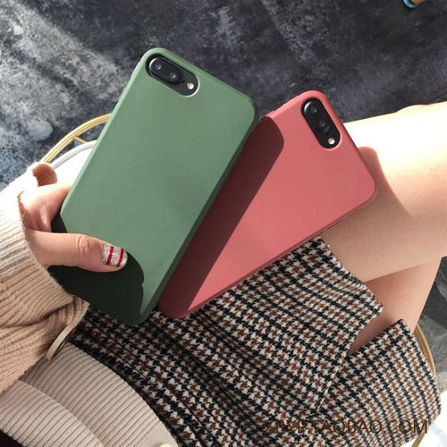 KACOOL for iPhone X /8 /7 Plus Case Soft Silicone TPU Shockproof Mobile Phone Bags Cases for Apple iPhone 7/ 8 Plus/ 6 /6s Plus