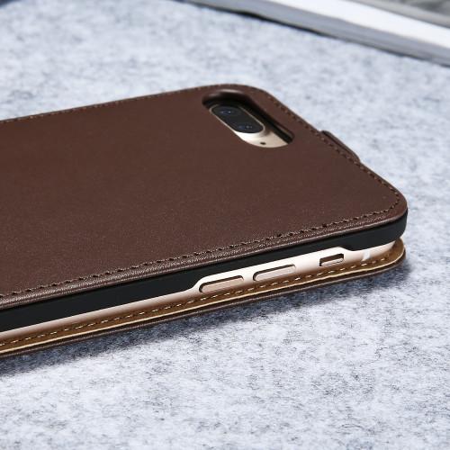 KISSCASE Vintage Flip PU Leather Case For iPhone 5 5s 6s 4s Phone Cases Cover Coque For iPhone 5s 4 SE 6 6s Plus 7 7Plus 8 Plus