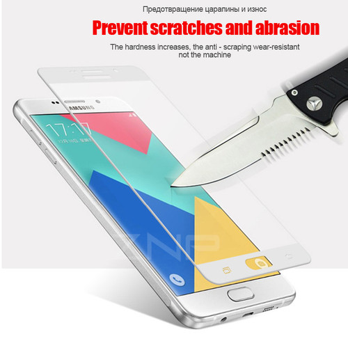 ZNP 9H Tempered Glass For Samsung Galaxy S7 S6 A3 A5 A7 2016 2017 J3 J5 J7 Screen Protector For Samsung S7 Tempered Glass Film