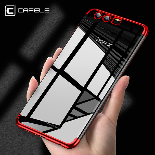 Cafele for Huawei Honor 9 TPU Cover Silicon Soft TPU Case Luxury Transparent Anti-knock for Huawei Honor 9 Case Slim Phone Cover