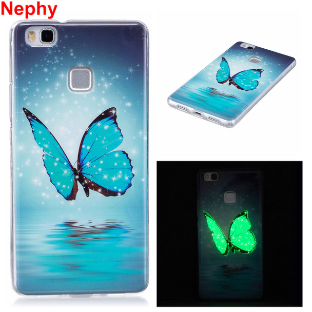 Nephy Phone Case For Huawei P8 P9 P10 Lite Plus P 8 9 Lite 2017 Y5 III Honor 6c Enjoy 6s Noctilucent Shine Cover Silicon Casing