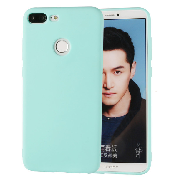 Silicone Case For Huawei Honor 9 Lite Funny Soft Back Cover Matte Cute Ultra Thin Cover Candy Color TPU For Huawei Honor 9 Lite