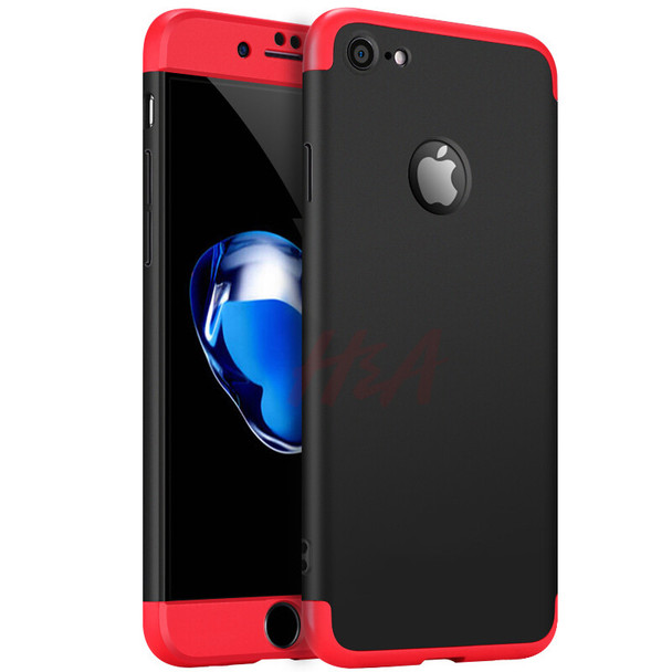 H&A Luxury 360 Degree Full Protection Case For iPhone 5 5 SE 7 Phone Case For iPhone 7 6 6s 8 Plus Cover Protective Case Shell