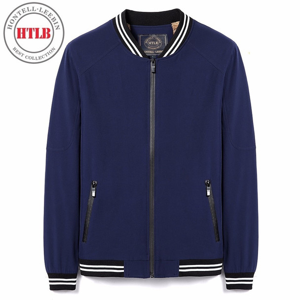 HTLB Brand New 2018 Spring MA1 Jacket Coat Men Fashion Casual Elastic Bomber Baseball Solid Jackets Coats Men Plus Size M- 5XL